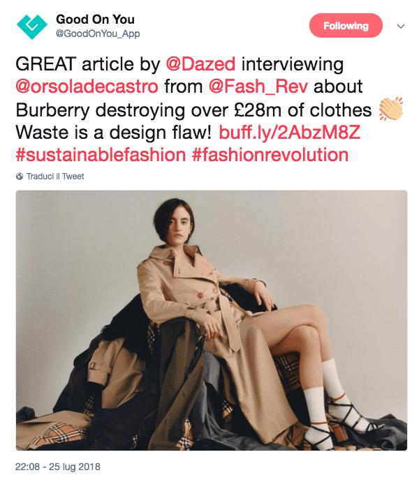 Abiti che bruciano: le cattive pratiche del sistema moda