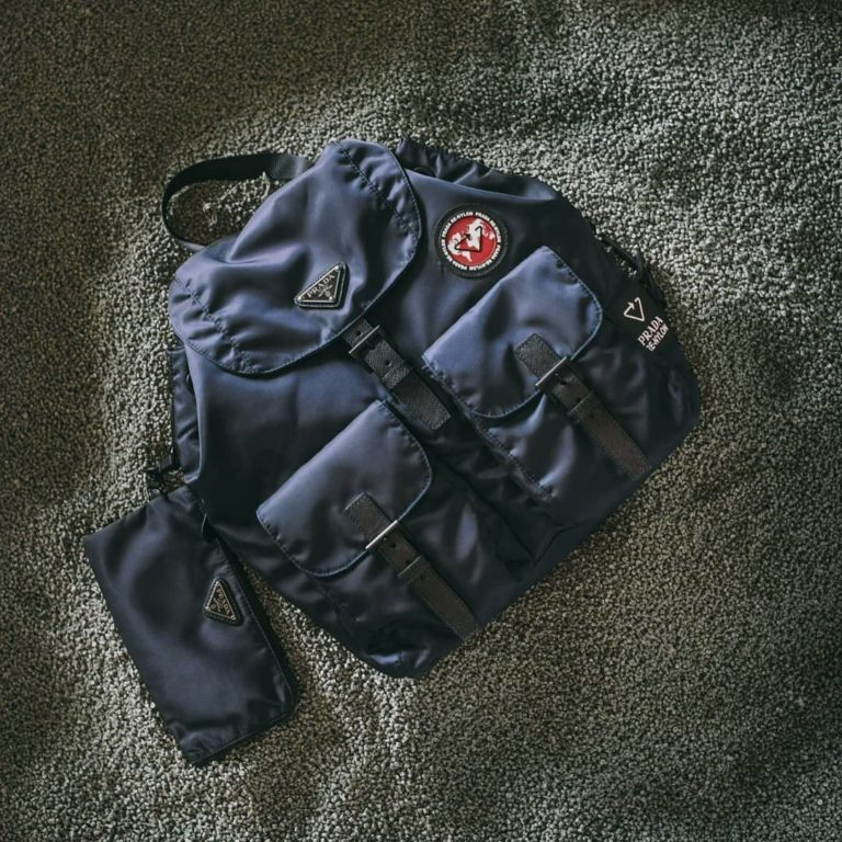 Prada lancia la collezione Re-Nylon, borse e zaini in nylon rigenerato